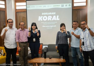 KORAL Declaration: Strengthening Indonesia's Marine and Fisheries Governance for Sustainability