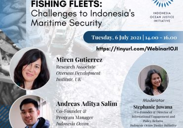 Webinar Distant Water Fishing Fleets: Challenges to Indonesia's Maritime Security