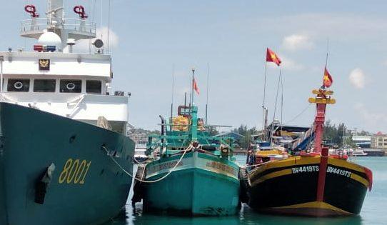 IUU Fishing Di Laut Natuna Utara Kuartal-I 2021 Dalam Kondisi Kritis