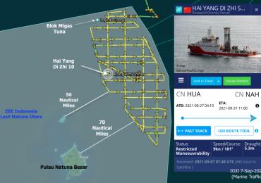 Ancaman IUUF dan Keamanan Laut Indonesia – Agustus 2021